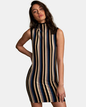 Load image into Gallery viewer, RVCA INBOUND MOCK NECK SWEATER DRESS