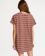 Load image into Gallery viewer, RVCA STRIKEOUT T-SHIRT DRESS