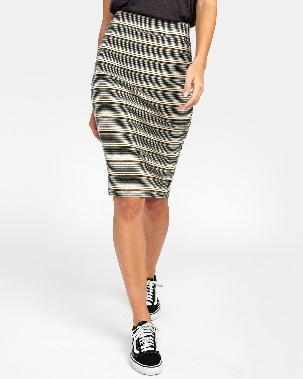 RVCA PICK ME UP KNIT SKIRT