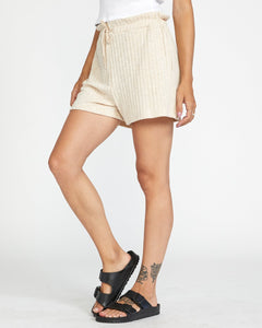 RVCA ONE NIGHT SHORT OATMEAL