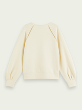 Load image into Gallery viewer, SCOTCH & SODA SOFT TAPE DETAIL CREWNECK SWEATER IVORY