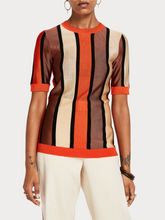 Load image into Gallery viewer, SCOTCH & SODA STRIPED KNIT TOP