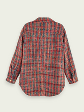 Load image into Gallery viewer, SCOTCH & SODA TWEED SHIRT JACKET