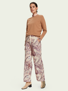 SCOTCH & SODA EDIE HIGH RISE WIDE LEG PANTS