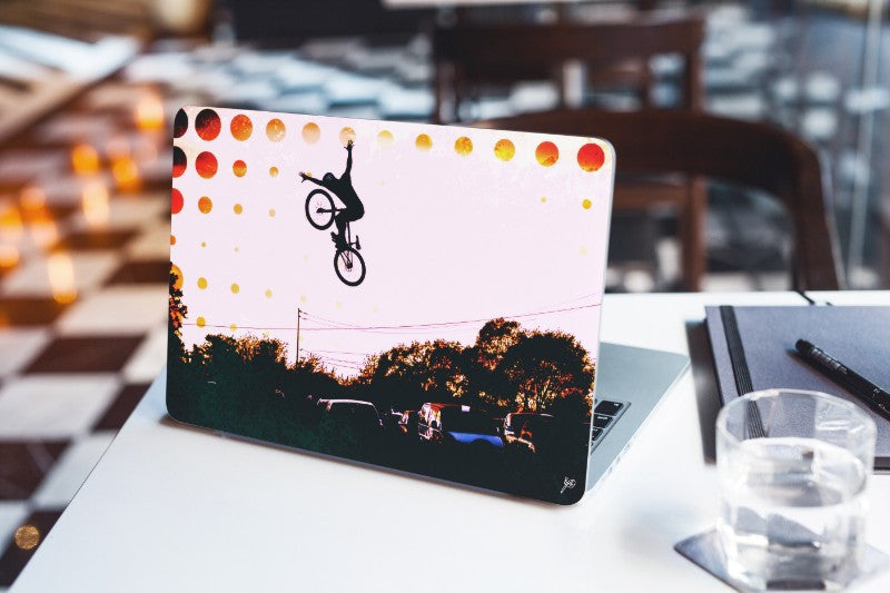 Mountain Bike Laptop Skins