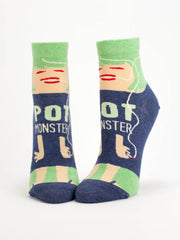 Women's Pot Monster Ankle