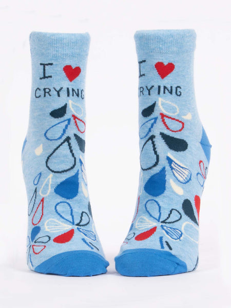 Women's I Heart Crying Ankle