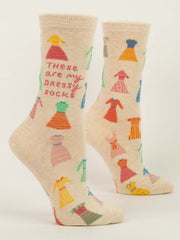 Women's These Are My Dressy Socks Crew