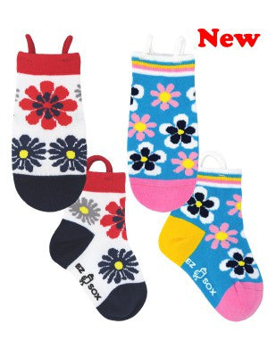Kid's Flowers Crew (2 Pack)