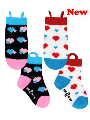 Kid's Hearts Crew (2 Pack)