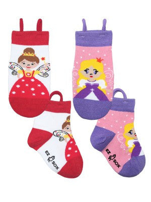 Kid's Princess Fairy Crew (2 Pack)