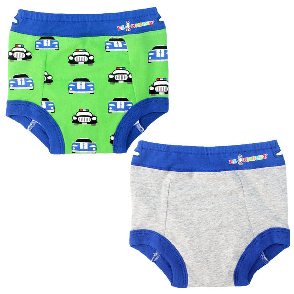 Boy's Cars Padded Training Underwear (2 Pack)