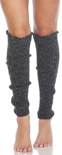 Women's Cable Knit Leg Warmers