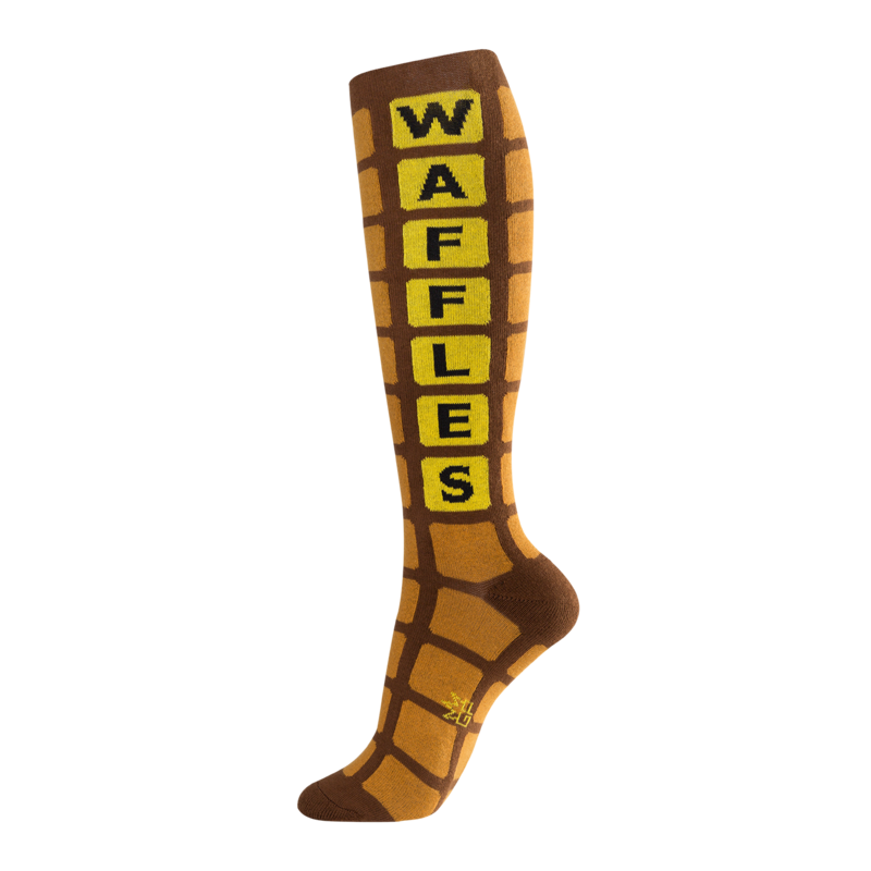 Waffles Knee High