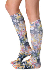 Galaxy Kitty Knee High