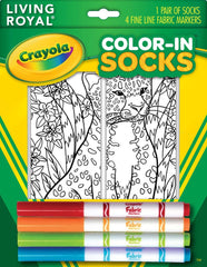 Color-in Leopard Ankle Socks