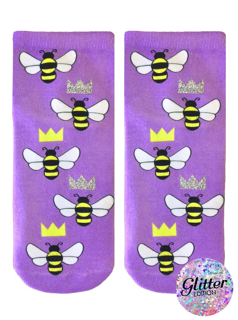 Queen Bee Glitter Ankle