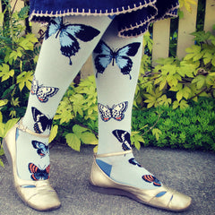 Women's Butterfly Study Knee High