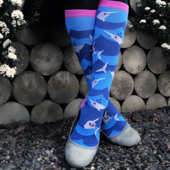 Women's Lil' Narwhal Knee High
