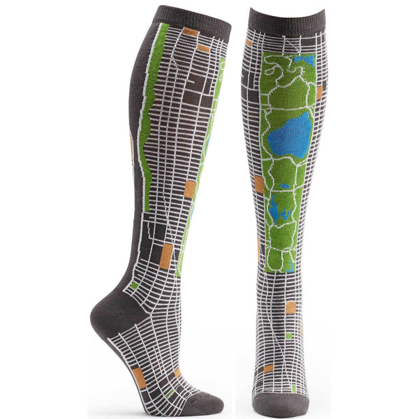 Women's NYC Map Knee High