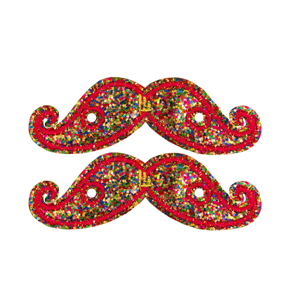 Shwings Mustache - Rainbow Sparkle