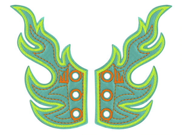 Shwings Flames - Turquoise