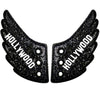 Shwings Hollywood Wings - Black Sparkle