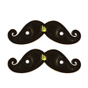 Shwings Foil Mustache - Black
