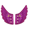 Shwings Foil Wings - Purple