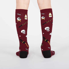 Kid's Spells Trouble Knee High