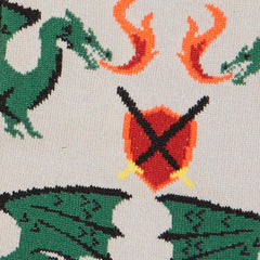 Men's Beware Of Dragons Crew