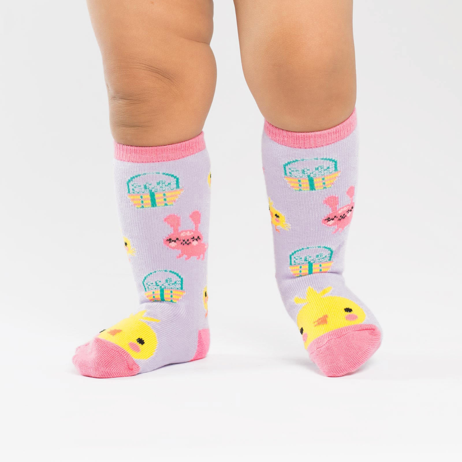 Toddler's Hoppy Easter Knee High