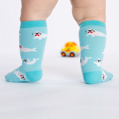 Toddler's Baby Seals Knee High