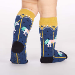 Toddler's Carousel Knee High