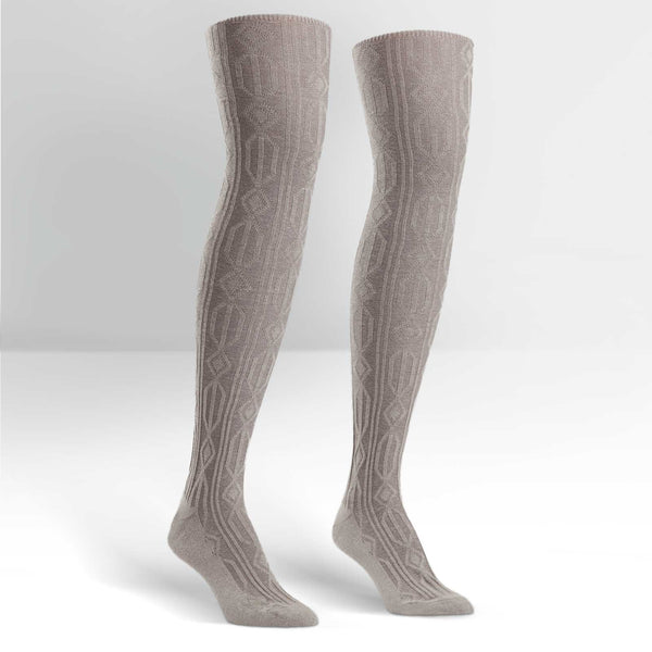 Women's Cable Knit Over The Knee