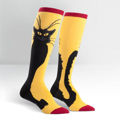 Women's Chat Noir Knee High