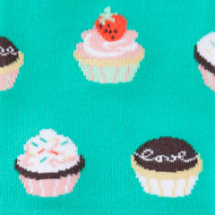 Women's Let Them Eat Cupcakes Knee High