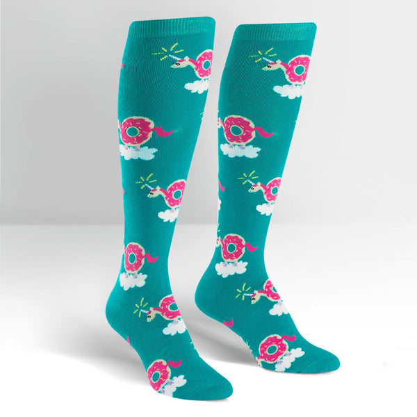 Women's Donuticorn Knee High
