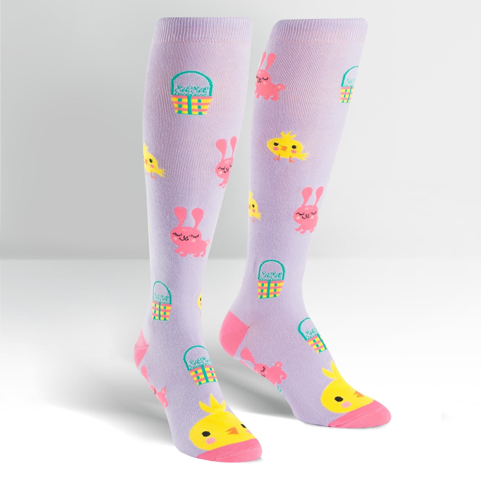 SALE - Women's Hoppy Easter Knee High