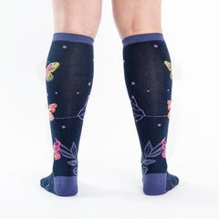 Women's Madame Butterfly Knee High