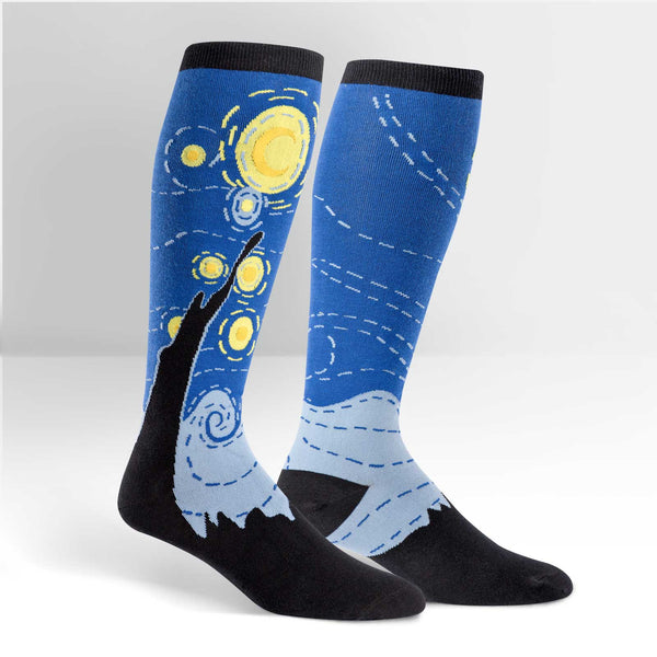 Women's Stretch-It Starry Night Knee High