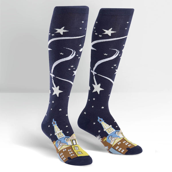 SALE - Women's Wish Upon A Star Knee High