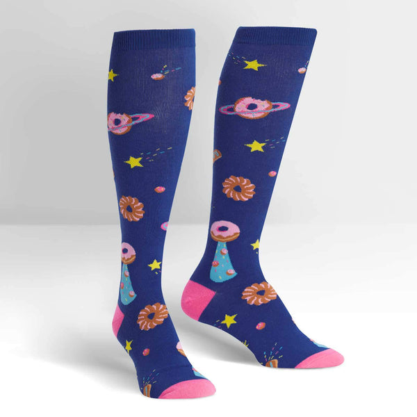 Women's Glazed Galaxy Knee High