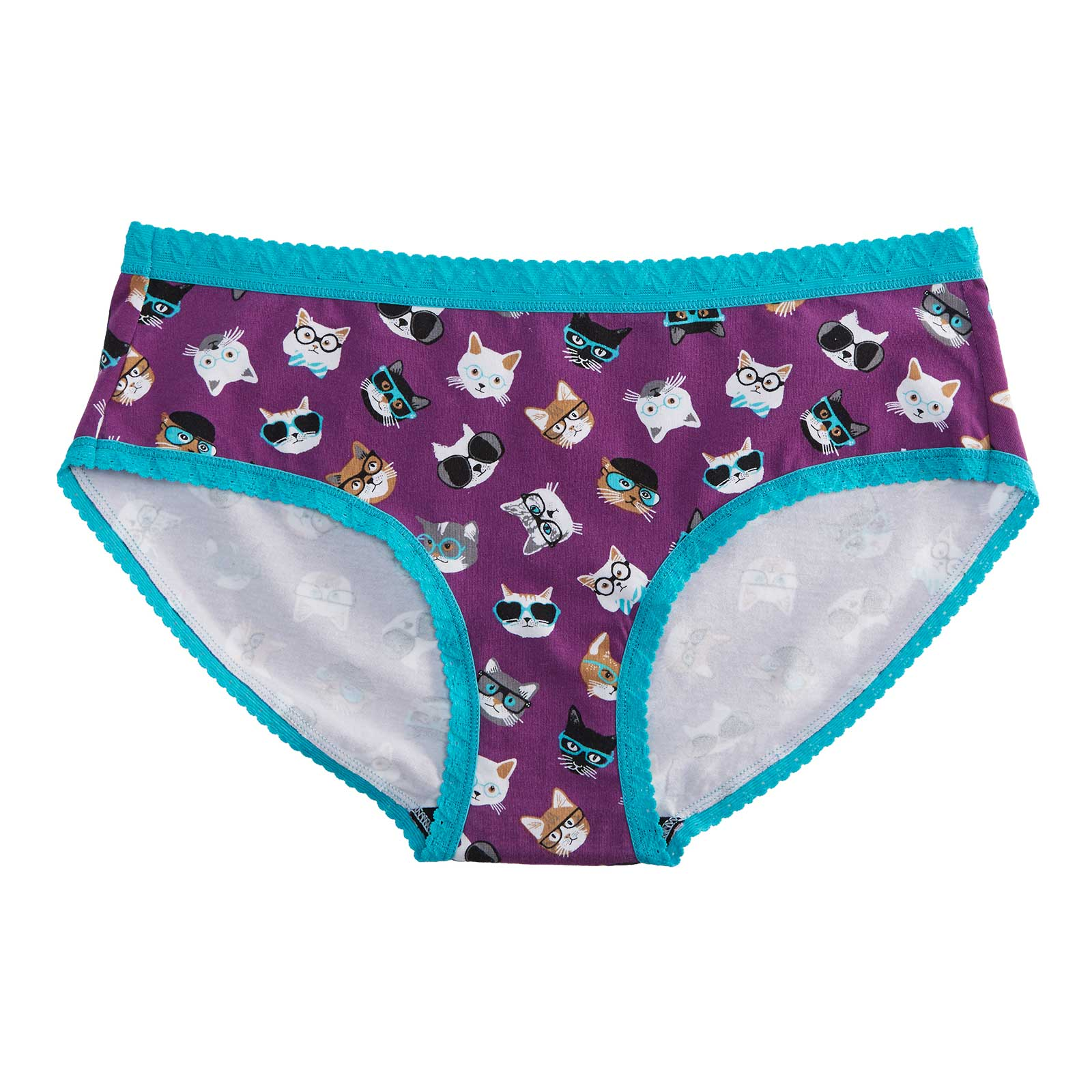 Women's Hipster Smarty Cats Underwear