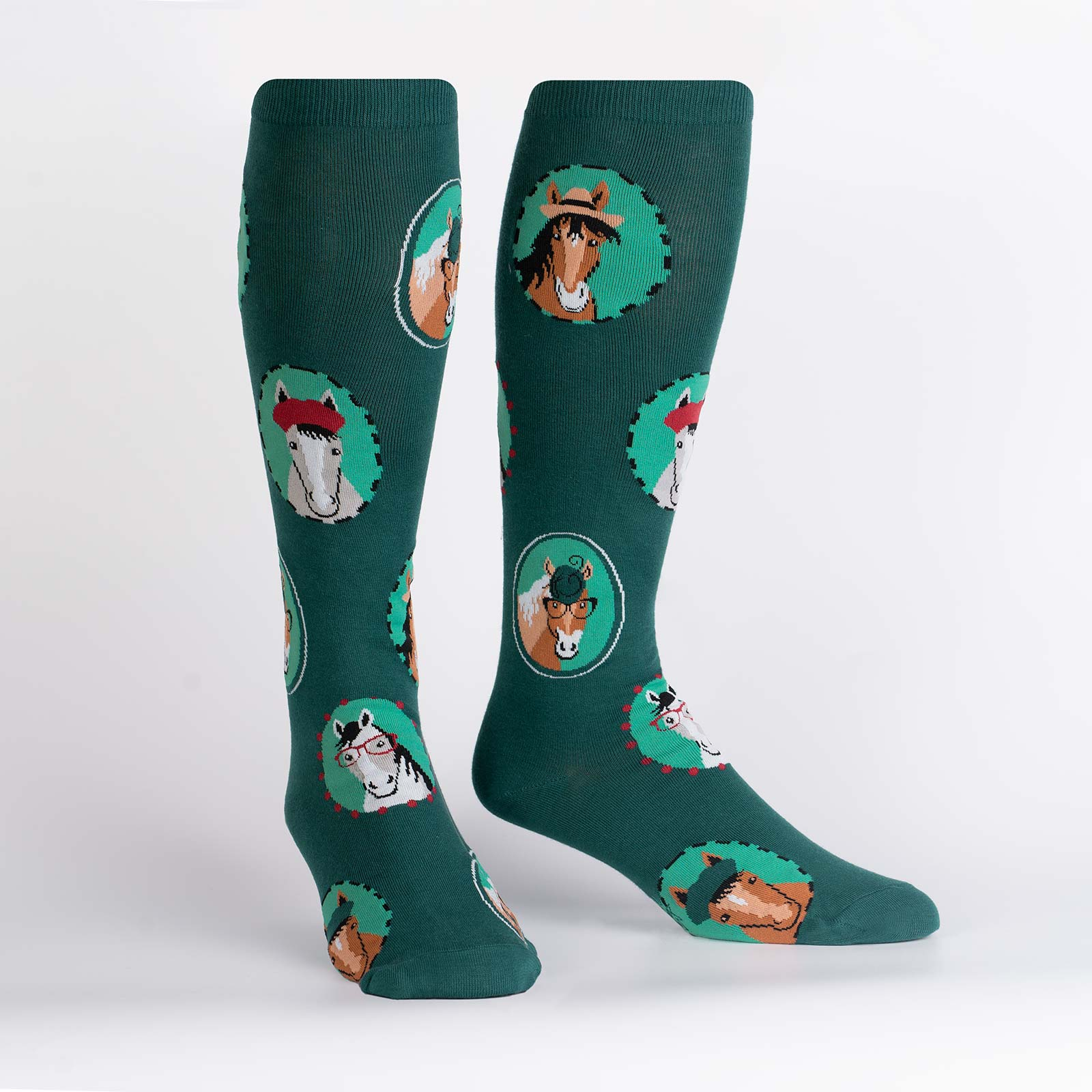 Women's Stretch-It Horsing Around Knee High
