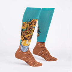 Women's Sunflowers Knee High