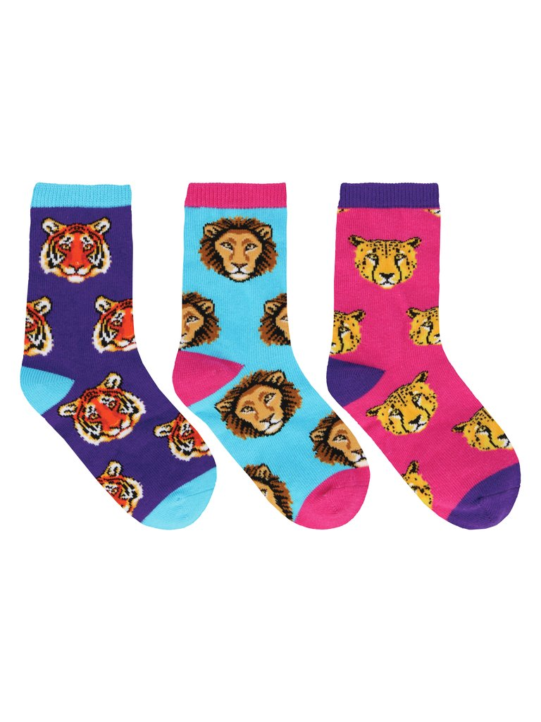 Kid's Wild Child 3-Pack Crew