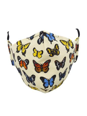 Socksmith Majestic Butterflies Face Mask