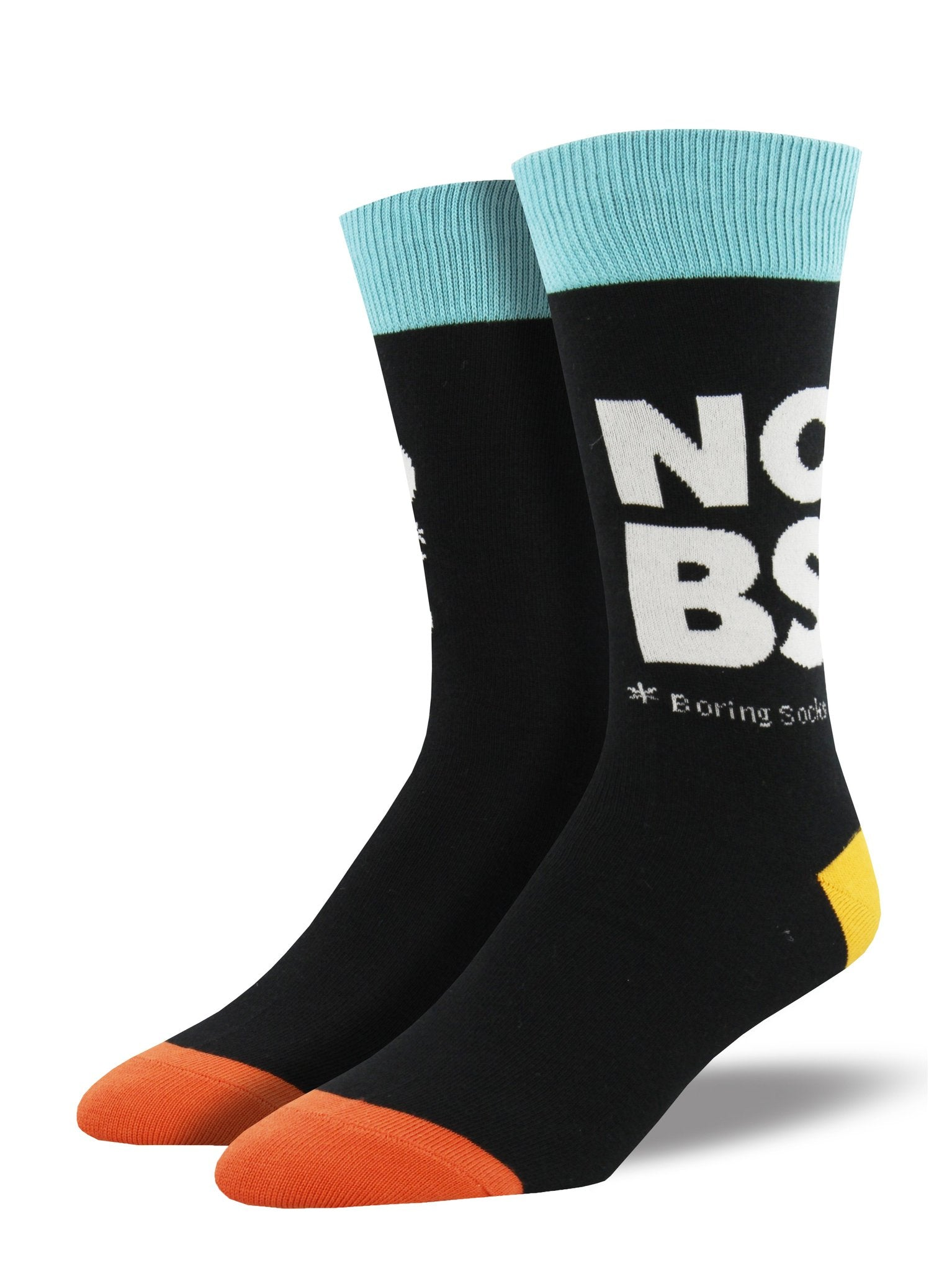 Men's No Boring Socks Crew