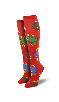 Women's Frog Knee High